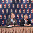 David Stern and Peter Holt