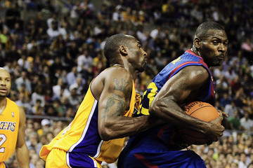 Terence Morris NBA Europe Live - Barcelona - Regal FC Barcelona v Los Angeles Lakers