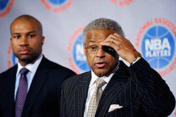 Billy Hunter NBA And Player's Association Meet To Negotiate CBA