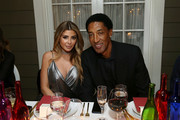 Larsa Pippen and Scottie Pippen attend the NBA All Star Dinner Honoring Scottie Pippen on February 15, 2018 in Bel Air, California.