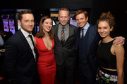"(L-R) Actors Jesse Lee Soffer, Marina Squerciati, NBC Entertainment chairman Robert Greenblatt, actors Nick Gehlfuss and Rachel DiPillo attend a premiere party for NBC's 'Chicago Fire', 'Chicago P.D.' and 'Chicago Med' at STK Chicago on November 9, 2015 in Chicago, Illinois. NBC has renewed popular dramas ""Chicago Fire"" and ""Chicago P.D."" for the 2016-17 season. ""Chicago Fire"" will be entering its fifth season while ""Chicago P.D."" will begin its fourth season."