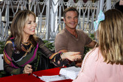 Lauren Koslow and Wally Kurth attend NBC's 'Days Of Our Lives' press event at Universal CityWalk on November 09, 2019 in Universal City, California.