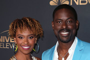 Ryan Michelle Bathe and Sterling K. Brown Photos Photo