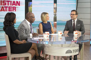 TODAY -- Pictured: (l-r) Sheinelle Jones, Al Roker, Dylan Dreyer, and Christian Slater on Wednesday Sept. 20, 2017 --