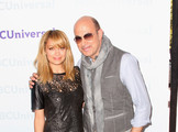 TV Personalities Nicole Richie and John Varvatos arrive at the NBCUniversal summer press day held at The Langham Huntington Hotel and Spa on April 18, 2012 in Pasadena, California.