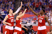 Josh Gasser Nigel Hayes Photos Photo
