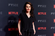 "Michelle Dockery attends #NETFLIXFYSEE For Your Consideration Event For ""Godless"" - Arrivals at Netflix FYSEE At Raleigh Studios on June 9, 2018 in Los Angeles, California."