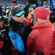 Ron Rivera and Bruce Arians