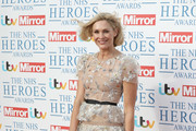 Jenni Falconer attends the 'NHS Heroes Awards' held at the Hilton Park Lane on May 14, 2018 in London, England.