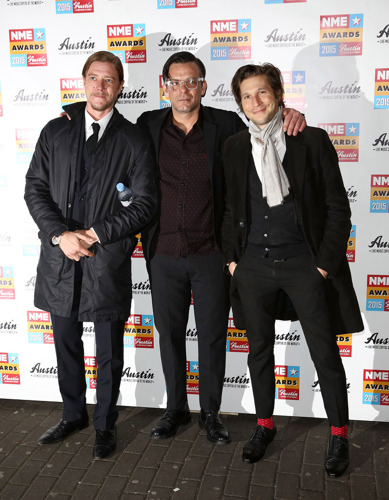 Paul Banks And Sam Fogarino Photos Photos Nme Awards