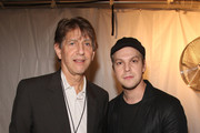 Actor Peter Coyote and musician Gavin DeGraw attend a National Parks celebration hosted by the National Parks Conservation Association and PBS at Central Park on September 23, 2009 in New York City.