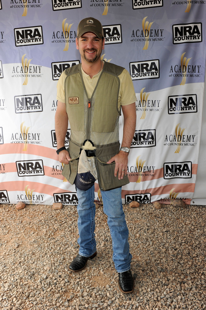 Lee Brice in NRA Country/ACM Celebrity Shoot Hosted By