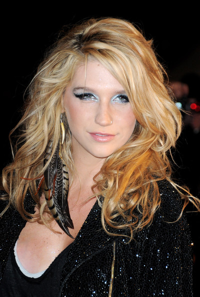 Kesha attends the NRJ Music Awards 2010 at Palais des