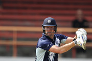 Cameron White of Victoria bats during the JLT One Day Cup match between New South Wales and Victoria at North Sydney Oval on September 23, 2018 in Sydney, Australia.