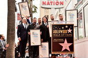 NSYNC is honored with a star on the Hollywood Walk of Fame on April 30, 2018 in Hollywood, California.