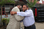 Justin Tuck Anthony Anderson Photos Photo