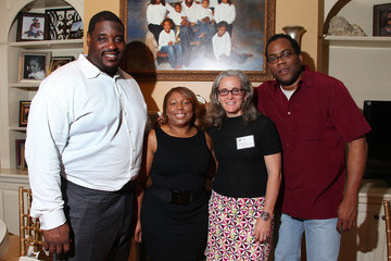 Nicole Woody NY Jets Damien Woody Hosts Dinner with Spike Lee to Support Man Up Campaign