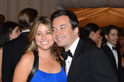 """Nancy Juvonen and Jimmy Fallon attend the """"Schiaparelli And Prada: Impossible Conversations"""" Costume Institute Gala at the Metropolitan Museum of Art on May 7, 2012 in New York City."""