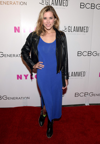 Susie Abromeit at  NYLON Young Hollywood Party