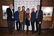 """New York magazine publisher Larry Burstein, actors Andrew Orvedahl, Adam Cayton-Holland, Maria Thayer, producer Dean Lorey and TruTV President Chris Linn attend the NYMag + Vulture + TruTV present """"Those Who Can't"""" at Roxy Hotel on January 14, 2016 in New York City."""