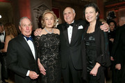 (L-R) Michael Bloomberg, Elaine Langone, Ken Langone and Diana Taylor attend NYU Langone's 2019 Violet Ball at The Metropolitan Museum of Art on November 04, 2019 in New York City.