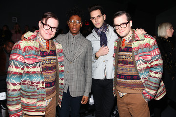 Naeem Juwan Timo Weiland - Backstage- Fall 2012 Mercedes-Benz Fashion Week