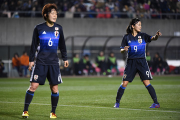 Nahomi Kawasumi Japan v China - AFC Women's Olympic Final Qualification Round