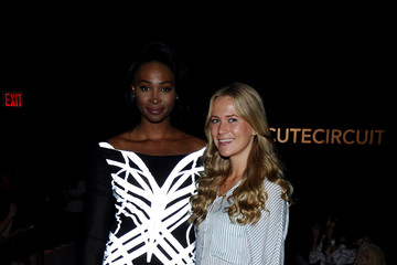 Nana Meriwether Cutecircuit - Front Row - Mercedes-Benz Fashion Week Spring 2015