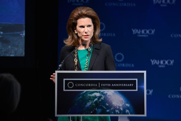 Nancy Brinker 2015 Concordia Summit - Day 2