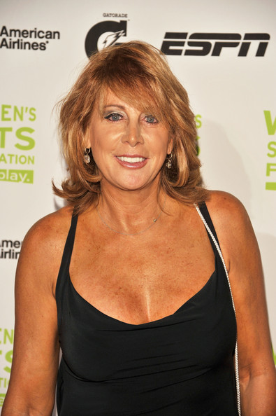 30th Annual Salute To Women In Sports Awards - Red Carpet [red carpet,hair,hairstyle,shoulder,blond,muscle,brown hair,long hair,premiere,nancy lieberman,the waldorf,new york city,astoria,salute to women in sports awards]