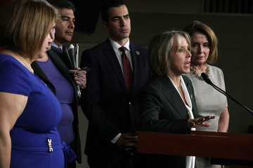 Nancy Pelosi Pelosi, House Democrats Hold Press Conference After Meeting With ICE Director