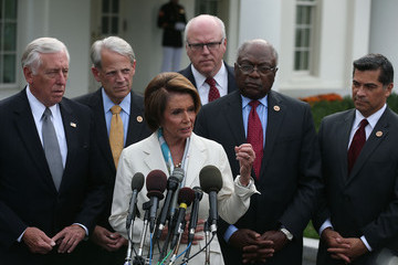 Nancy Pelosi Xavier Becerra Barack Obama Meets with House Democratic Leadership