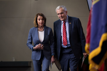 Nancy Pelosi House Democrats Discuss GOP Plans to End State and Local Tax Deduction