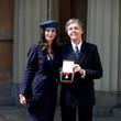Nancy Shevell Investitures At Buckingham Palace