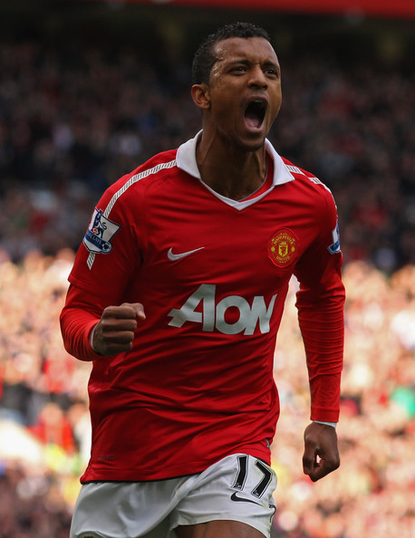 Nani - Manchester United v West Bromwich Albion - Premier League