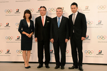Naoko Takahashi Bridgestone Announces Its Partnership with IOC — Part 2