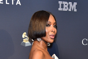 """Naomi Campbell Pre-GRAMMY Gala and GRAMMY Salute to Industry Icons Honoring Sean """"Diddy"""" Combs - Arrivals"""