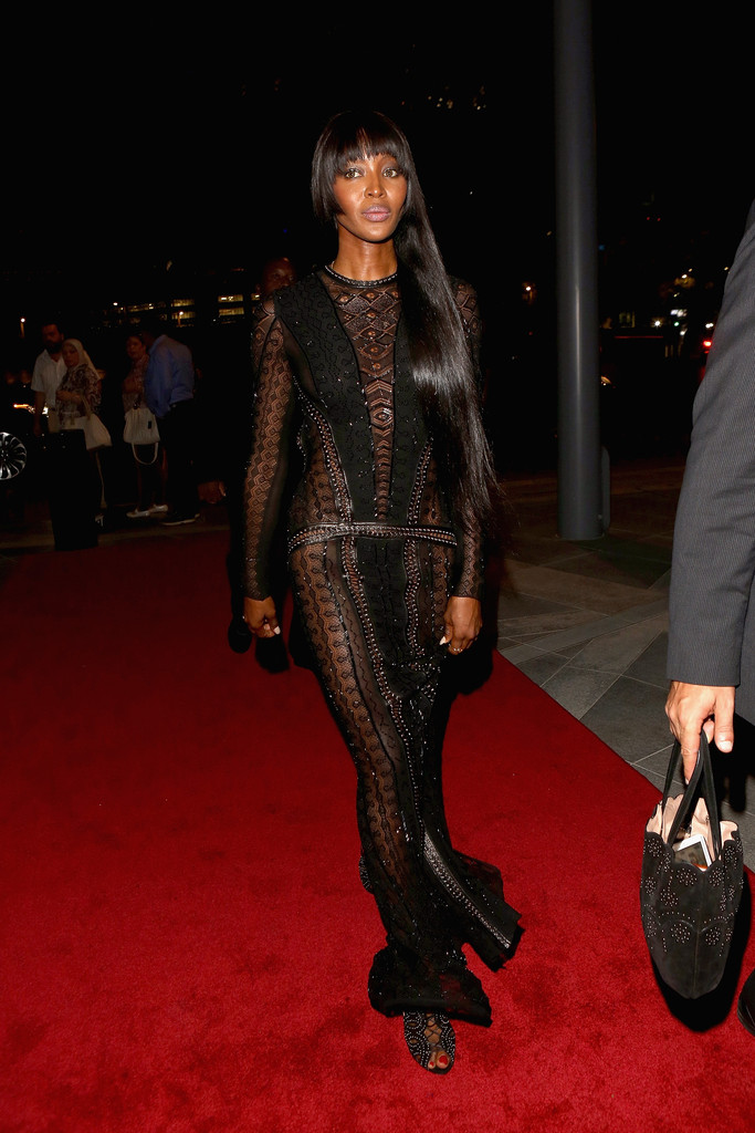Naomi Campbell's Yin and Yang in Dubai