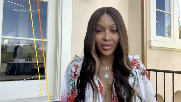 Global Goal: Unite For Our Future - Summit & Concert [unite for our future - summit concert,global goal: unite for our future - summit concert,goal,screengrab,unspecified,united states,naomi campbell]