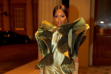 Naomi Campbell The Commonwealth Fashion Exchange Reception At Buckingham Palace
