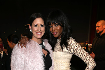 Naomi Campbell Lauren Taschen LACMA 2015 Art+Film Gala Honoring James Turrell and Alejandro G Inarritu, Presented by Gucci - Inside