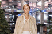 """Carolyn Murphy attends as Naomi Campbell and Matt Smith celebrate """"Close Your Eyes And Think Of Christmas"""" in New York on November 19, 2018 in New York City."""