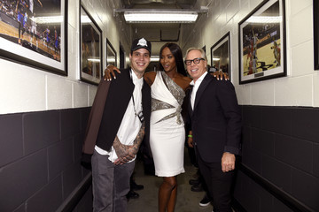 Naomi Campbell Three Lions Entertainment Presents Fashion Rocks 2014 - Backstage