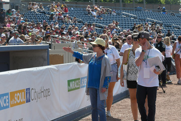 Naomi Judd 28th Annual City Of Hope Celebrity Softball Game - Game