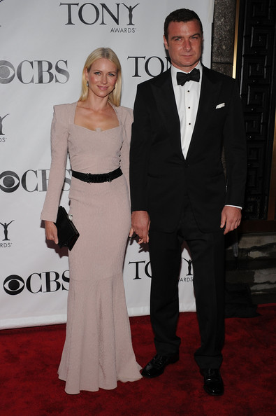 64th Annual Tony Awards - Arrivals [suit,carpet,formal wear,red carpet,clothing,tuxedo,dress,event,fashion,premiere,arrivals,actors,naomi watts,liev schreiber,tony awards,new york city,radio city music hall,64th annual tony awards]