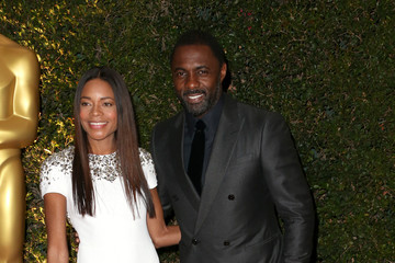 Naomie Harris Idris Elba Arrivals at the Governors Awards in Hollywood