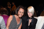 TV personality Alina Cho and Kate Lanphear attend the Narciso Rodriguez show during New York Fashion Week 2016 at SIR Stage 37 on September 13, 2016 in New York City.