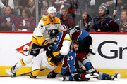 Mattias Ekholm and Nathan MacKinnon Photos Photo