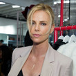 Charlize Theron Hangs Out on Melrose