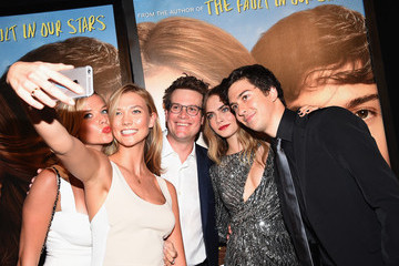 Nat Wolff Stars Attend the 'Paper Towns' New York Premiere